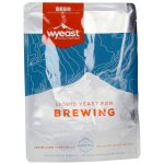 Liquid yeast WYEAST top-fermented.